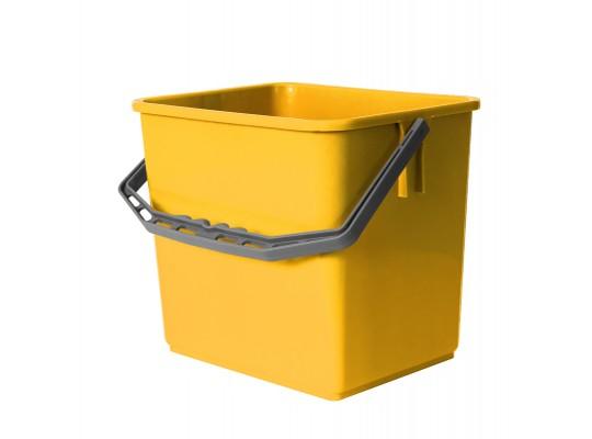 Kbelík plastový-žlutý-6l