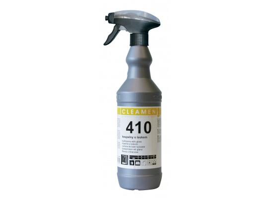 Prostředek čisticí a mycí-Cleamen 410-koupelny s leskem-rozprašovač