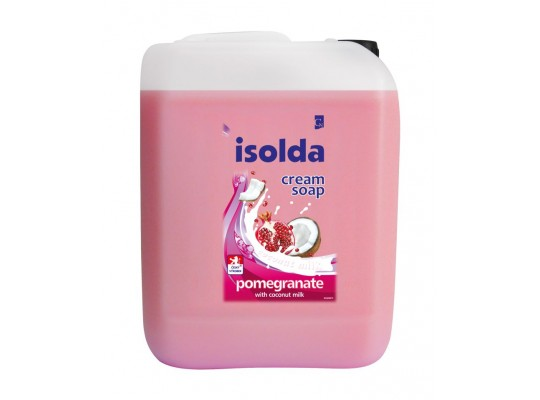Mýdlo tekuté-Medispender-Isolda-jablko granátové