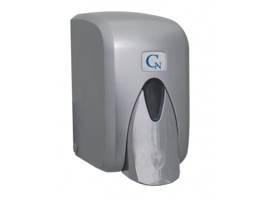 Dávkovač-zásobník tekutého mýdla-metallic