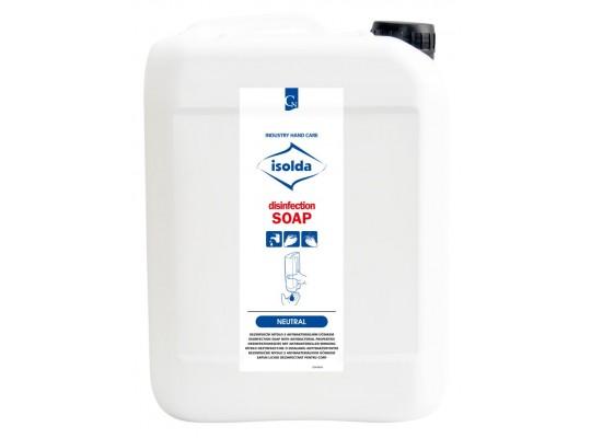 Mýdlo tekuté-dezinfekční-Isolda-kanystr
