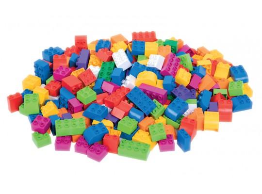 Kostky stavební plastové-v tašce látkové-BioBuddi