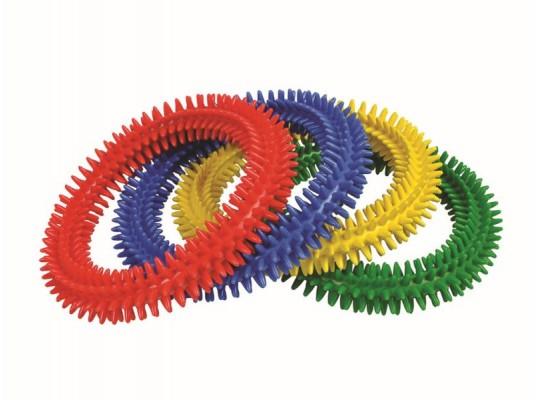 Kroužek masážní-pr.17cm-ježek