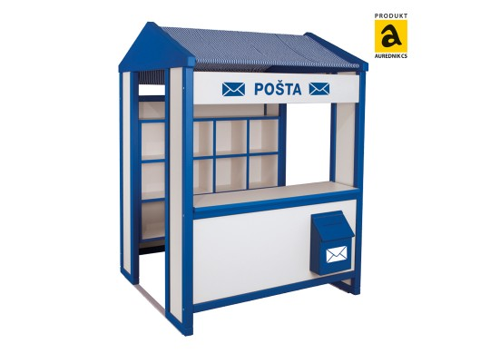 Prvek herní-Pošta-masiv/lamino buk