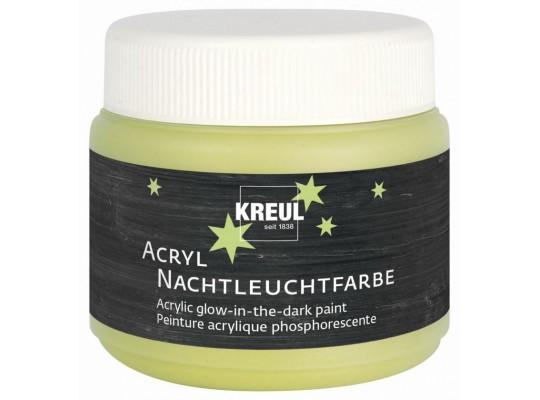 Barva akrylová-Kreul-svítící ve tmě-150ml