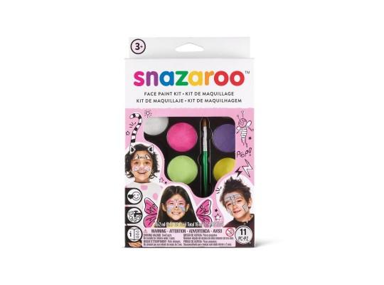 Barvy na obličej-Snazaroo-sada růžová-8ks