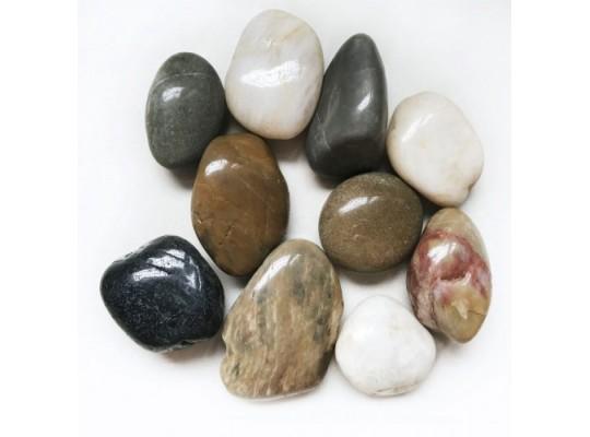 Kameny dekorační-říční-4-6cm-1000g