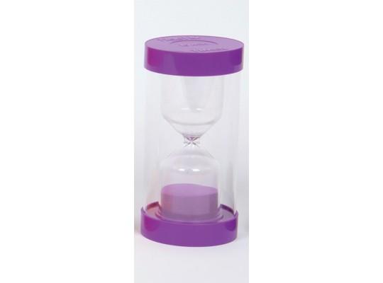 Hodiny přesýpací-fialové-15minut