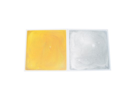 Deska nášlapná gelová-pomůcka didaktická-stříbrná třpytivá