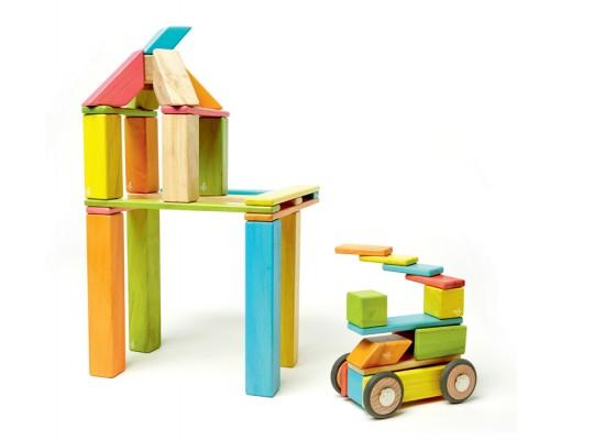 Stavebnice magnetická-Tegu-barevná