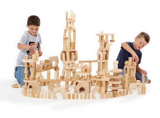Stavebnice dřevěná-Blok stromový-BigBox