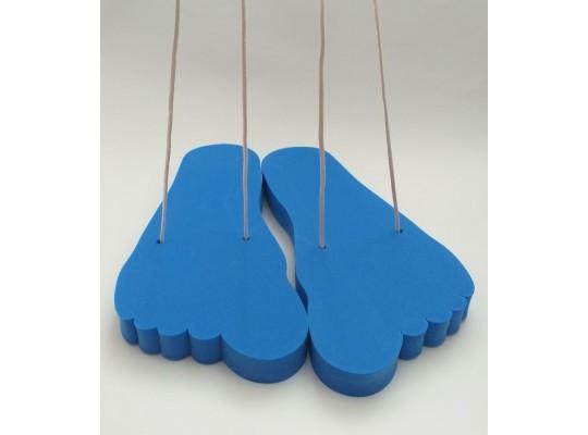 Stopa pěnová-obří-modrá