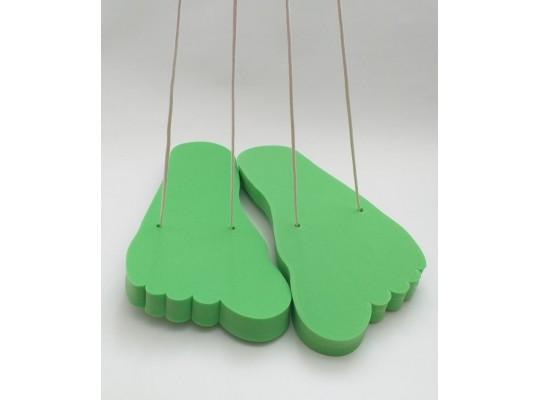Stopa pěnová-obří-zelená