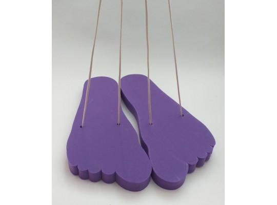 Stopa pěnová-obří-fialová