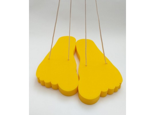 Stopa pěnová-obří-žlutá
