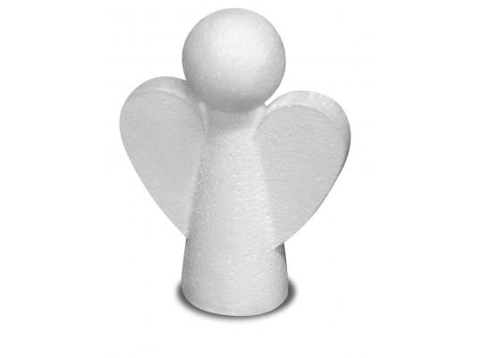 Anděl polystyrenový-13cm