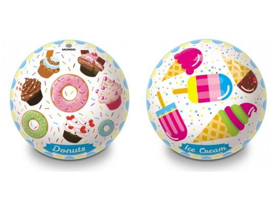 Míč dětský-velký-pr.23cm-donut/zmrzlina