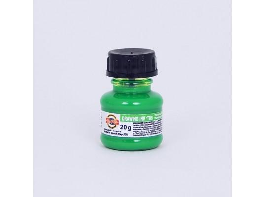Tuš fluorescentní-zelená