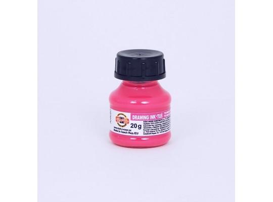 Tuš fluorescentní-růžová