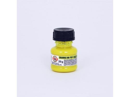 Tuš fluorescentnír-žlutá