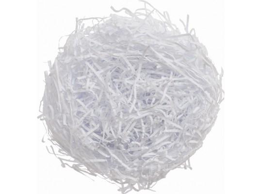 Tráva z papíru-bílá