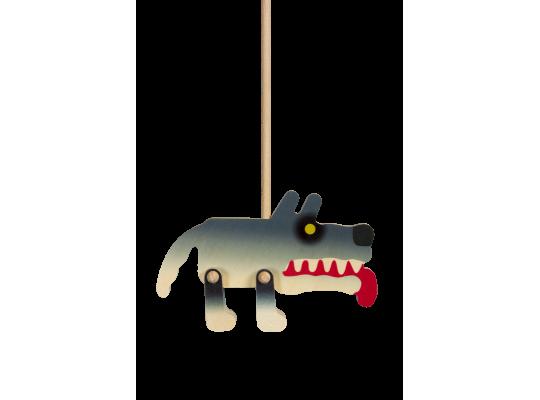 Loutka s nápadem-vlk