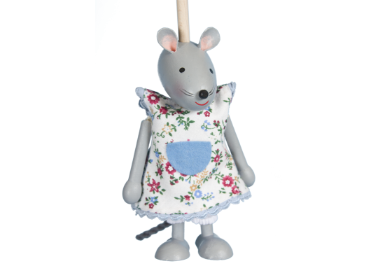 Loutka na tyči-myška