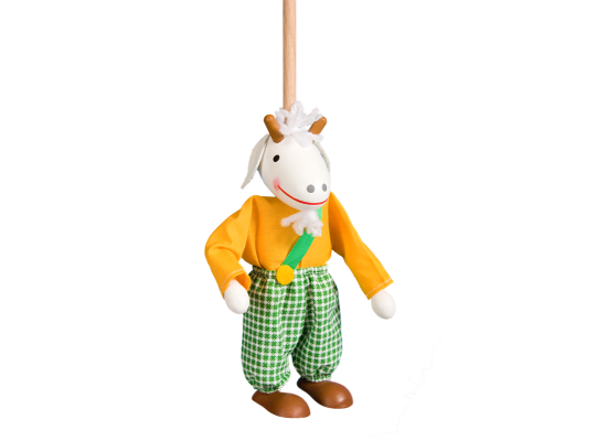 Loutka na tyči-kozlík