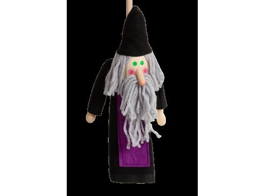 Loutka na tyči-kouzelník