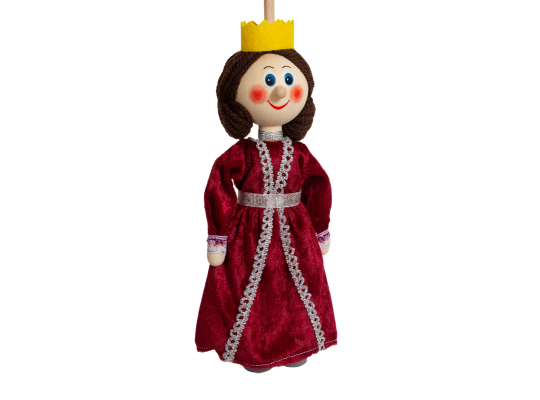Loutka na tyči-královna