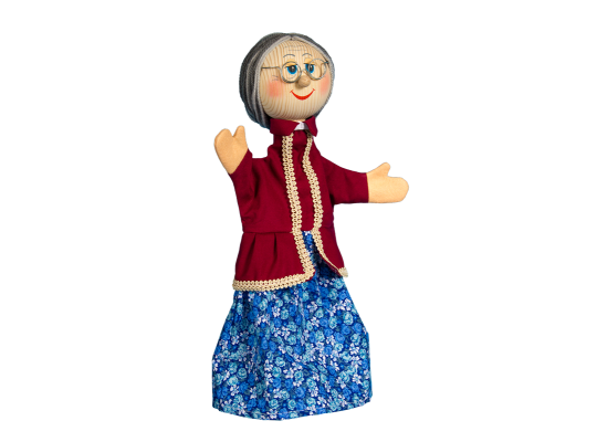 Maňásek-babička