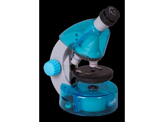 Mikroskop-Levenhuk LabZZ M101-modrý
