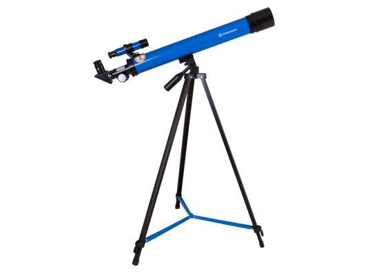 Dalekohled/teleskop hvězdářský-Bresser Junior Space Explorer 45/600-modrý