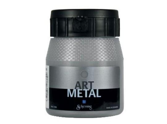 Barva art metal-stříbrná