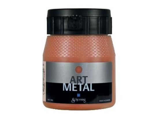 Barva art metal-měděná