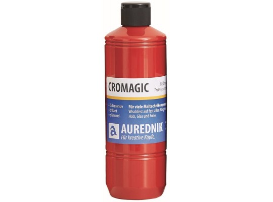 Barva AUREDNIK-Cromagic-tmavě červená-500ml