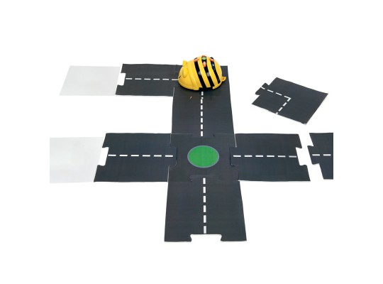 Bee-Bot® -puzzle silnice