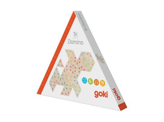 Domino dřevěné-trojúhelník-Tri-Domino