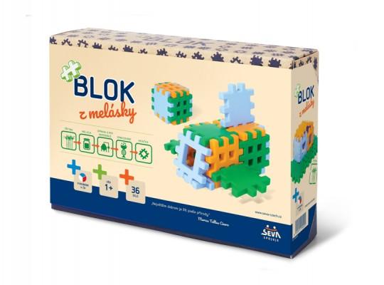 Stavebnice-BIO Blok z melásky-Jumbo