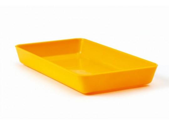 Miska obdélníková-žlutá