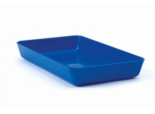 Miska obdélníková-modrá