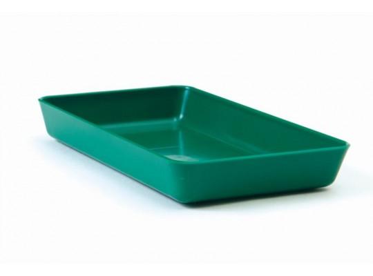 Miska obdélníková-zelená