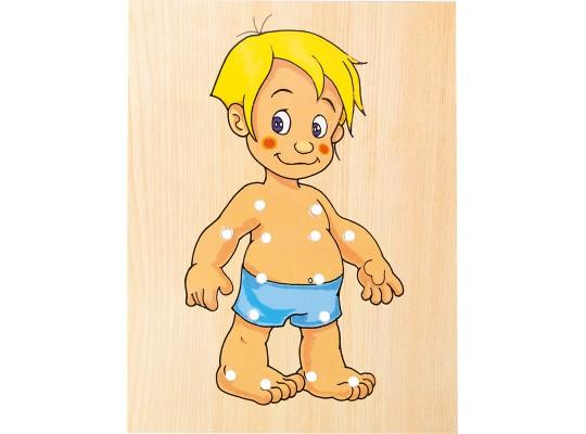 Skříň šatní šněrovací-kluk