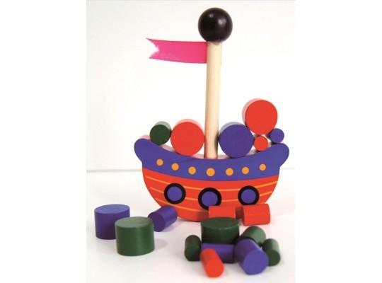 Loď pirátská-hra balanční