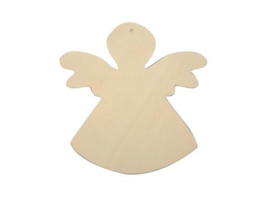 Anděl dřevěný k zavěšení