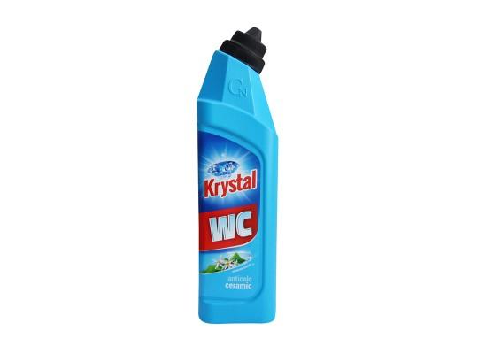 WC čistič Krystal kyselý-keramika-modrý