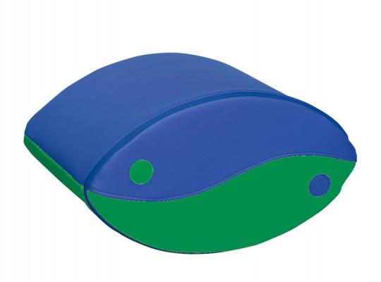 Blok houpací-modrý/zelený-velký