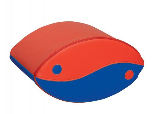 Blok houpací-červený/modrý-malý