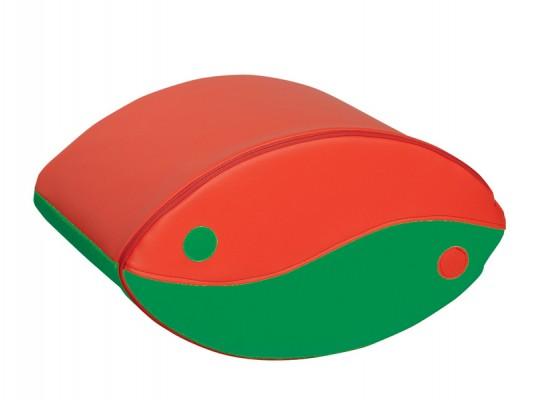 Blok houpací-červený/zelený-malý