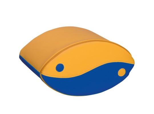 Blok houpací-žlutý/modrý-malý